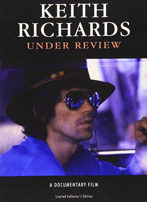 *USED* Keith Richards: Under Review DVD