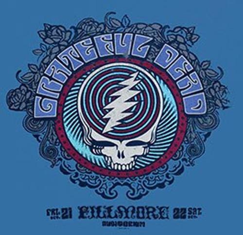 Grateful Dead (Fillmore Blue) Tee-Shirt Medium