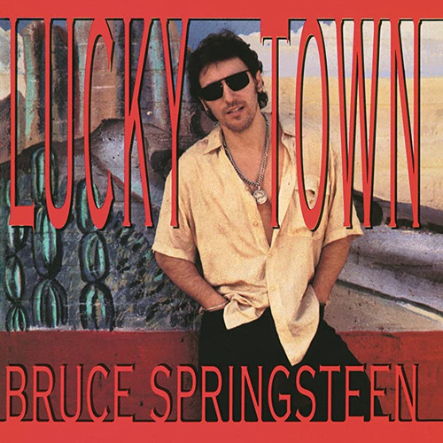 *USED* Bruce Springsteen Lucky Town CD