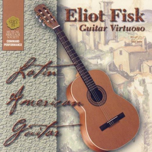 *USED* Eliot Fisk Latin American Guitar CD