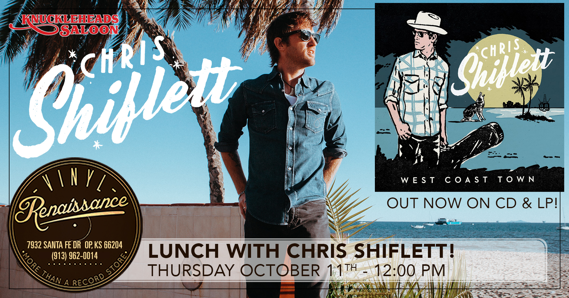 Lunch with Chris Shiflett! Live In Store