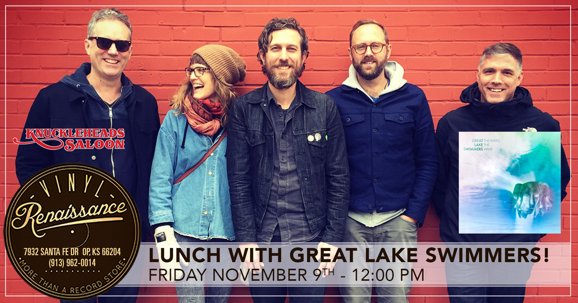Lunch with Great Lake Swimmers!