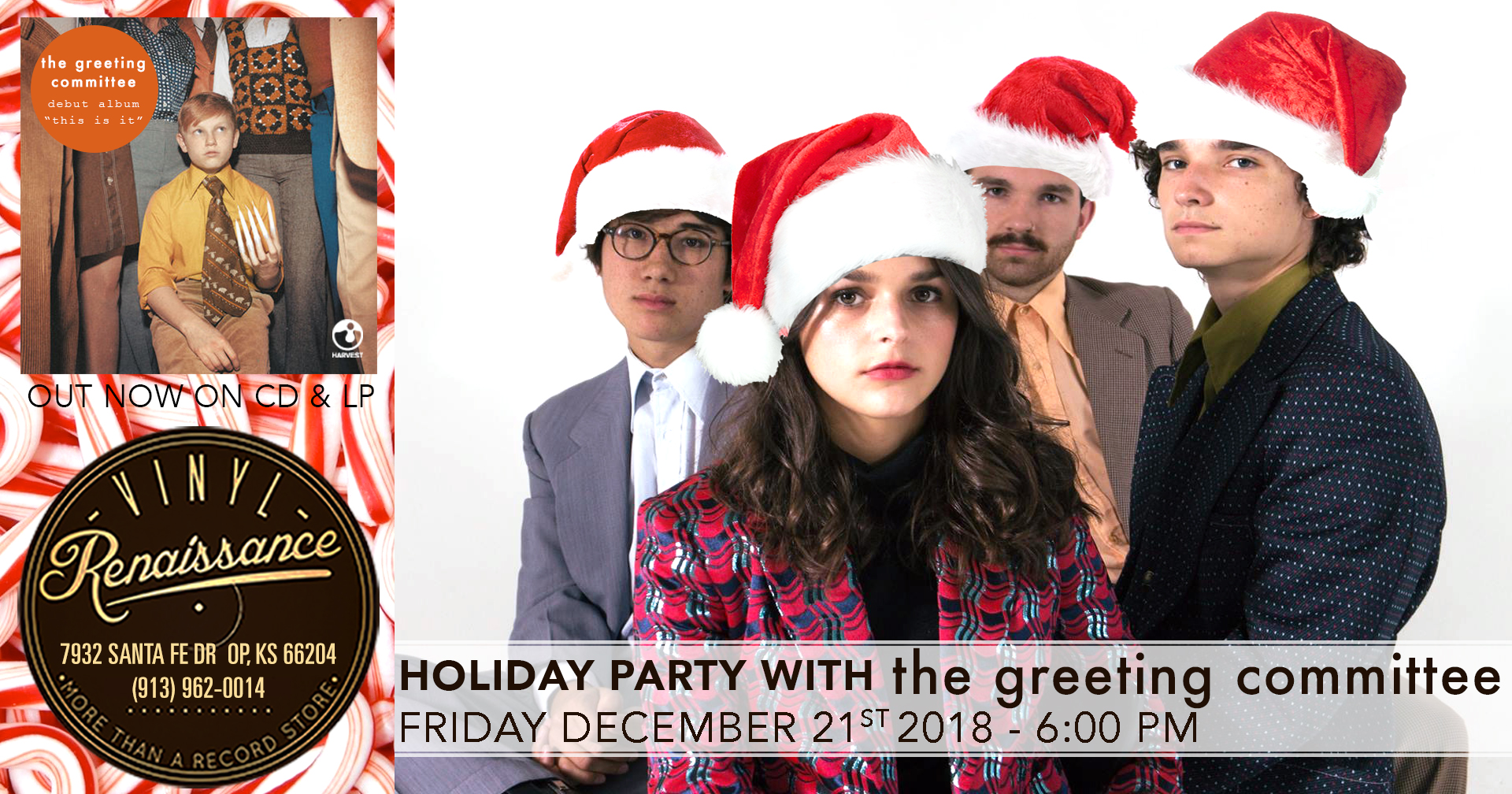 Free Holiday Party w/ The Greeting Committee