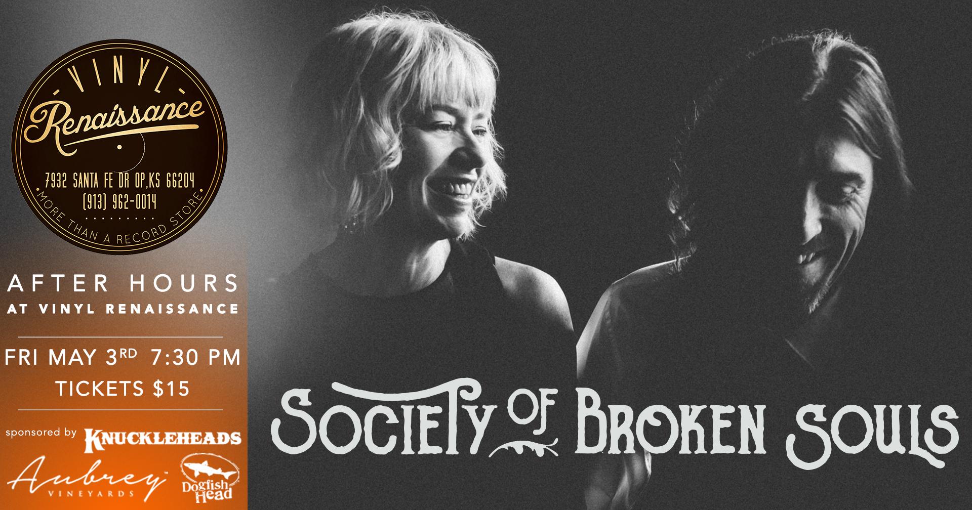 Society Of Broken Souls - 05/03/2019 After Hours at Vinyl Renaissance