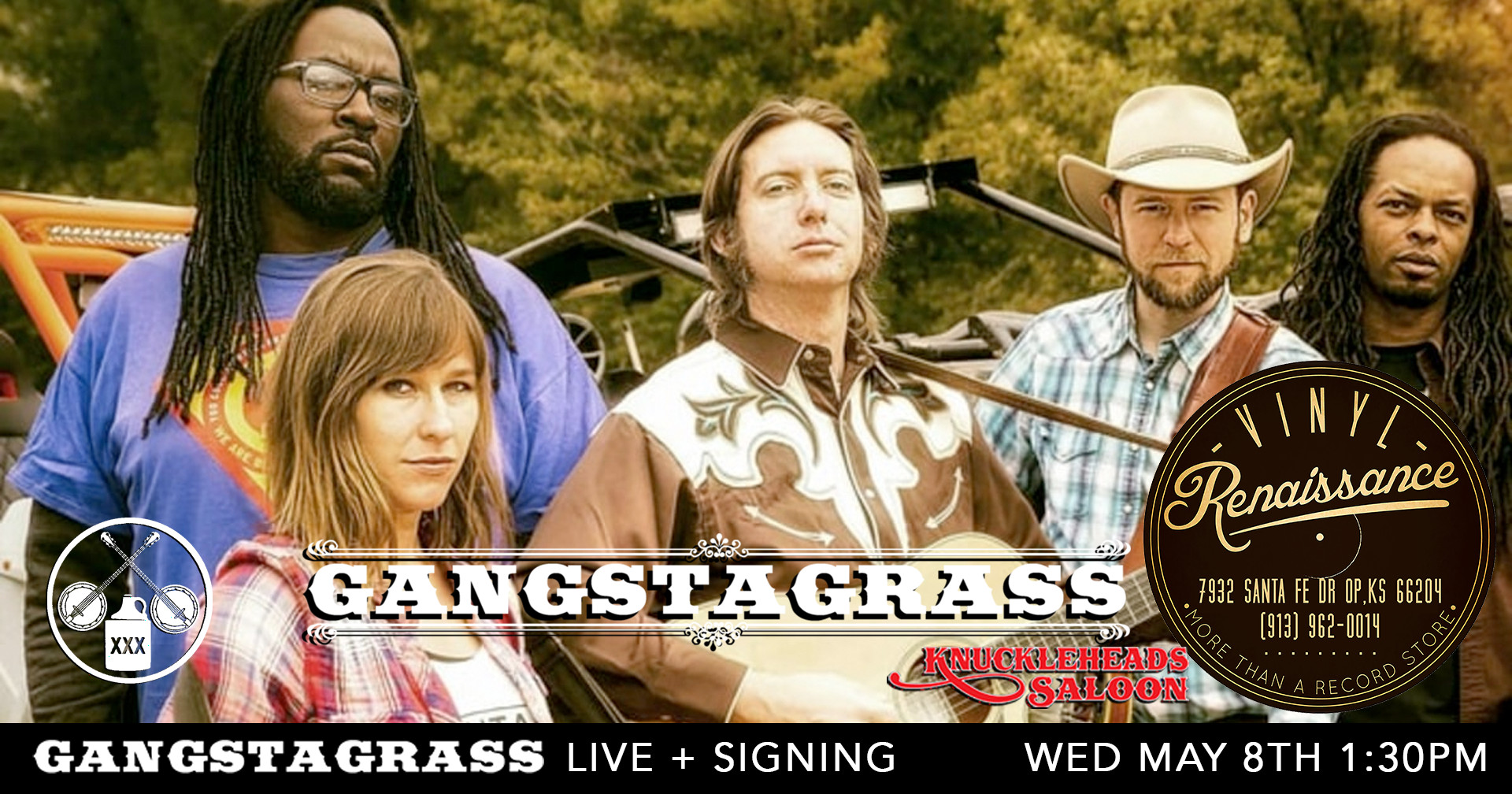 Gangstagrass - Free In-Store Performance + Signing
