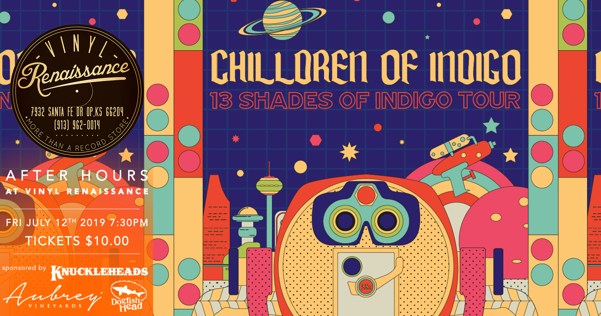 Chilldren Of Indigo - 07/12/2019 After Hours at Vinyl Renaissance