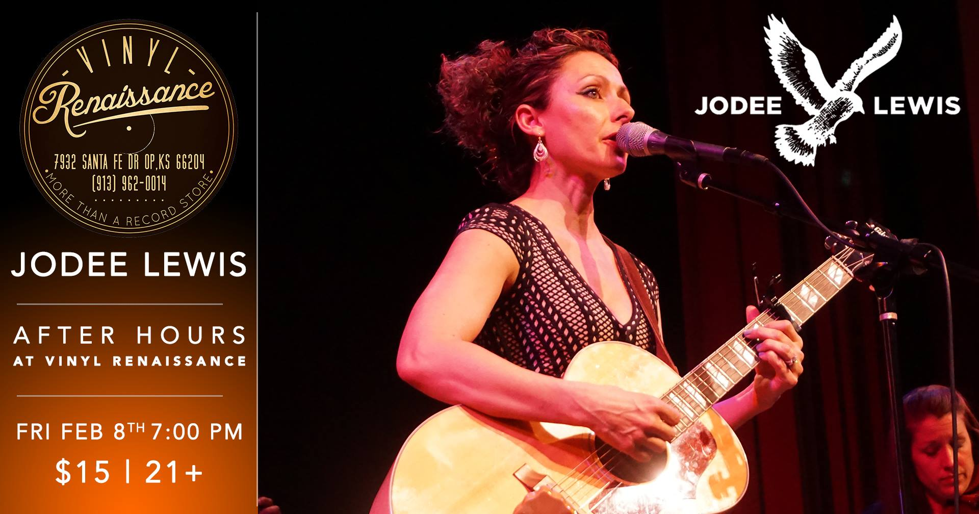 Jodee Lewis After Hours Concert February 8 @ 7:00 PM