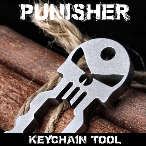 Punisher Keychain Tool