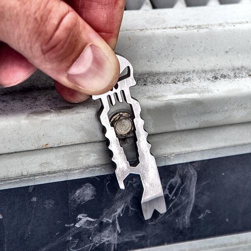 Punisher Keychain Tool