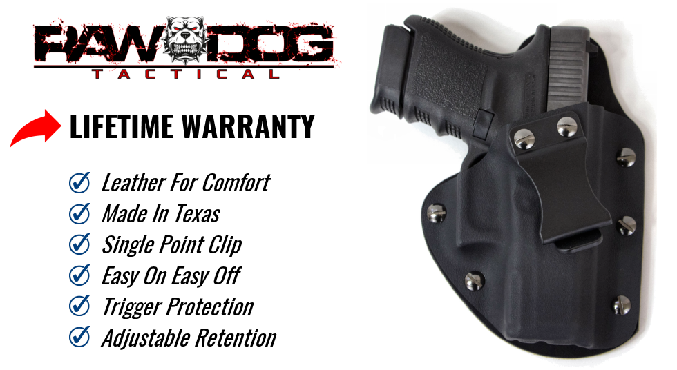 Hybrid Holster - The Defender Pro Series by Raw Dog Tactical