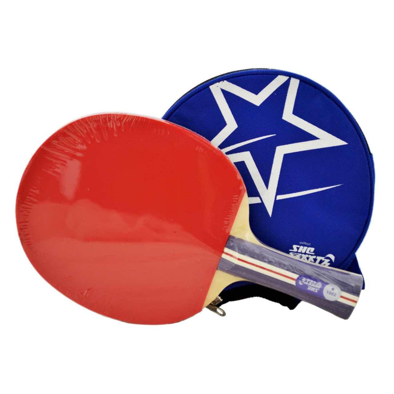 Terrific Dhs 1 Star Table Tennis Bat R1002 And Blue Case Free Rubber Protectors Interior Design Ideas Oteneahmetsinanyavuzinfo