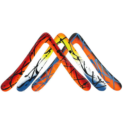 Kick Ass Aussie Round weighted phenolic sports boomerang by Real Boomerangs of Australia