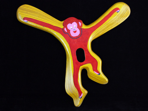 Boomerang Hunter Malpa (Monkey) Right Handed wooden boomerang