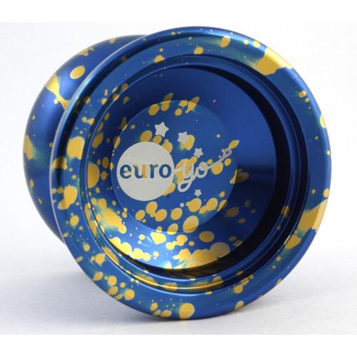 Euro-Yo Stellar Yo-Yo Blue with gold splash