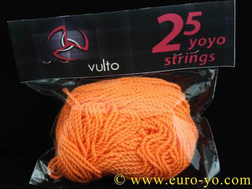 Vulto Orange Yo-Yo Strings x25