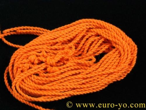 5 Arriba! Orange Tango type 6 poly yo-yo strings