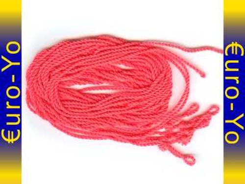5 Arriba! Pomegranate Pink type 6 poly yo-yo strings