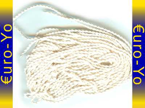 5 Arriba! White Slick type 6 Extra Long (XL) Yo-yo Strings