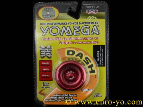 Yomega Dash Yo-Yo with DVD - Red
