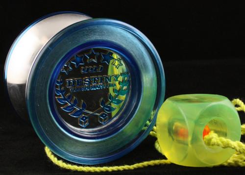 YoyoJam Destiny Yo-yo Translucent Blue