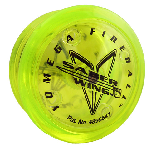 Yomega Fireball Saber Wing Yoyo - Lime