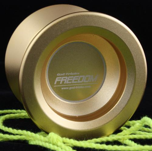 God-Tricks Freedom Yo-Yo Gold