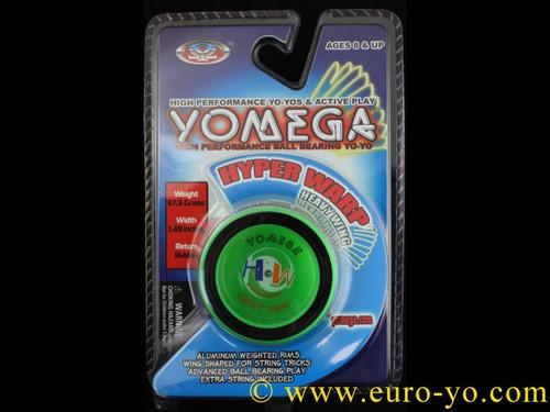 Yomega Hyper Warp Heavy Wing Yo-yo - Green