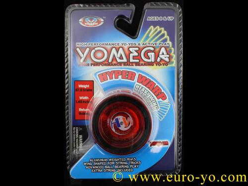 Yomega Hyper Warp Heavy Wing Yo-yo - Red