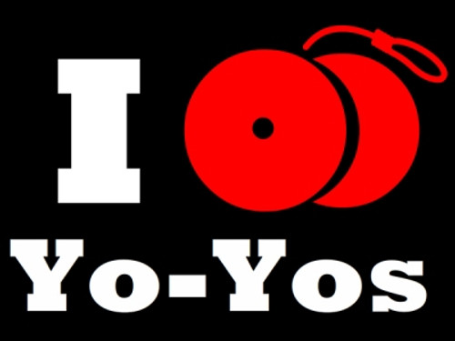 I Yo-Yo T-Shirt Black Large
