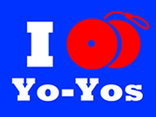 I Yo-Yo T-Shirt Blue Medium