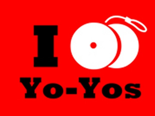 I Yo-Yo T-Shirt Red Medium