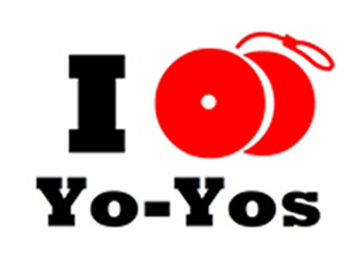 I Yo-Yo T-Shirt White Large