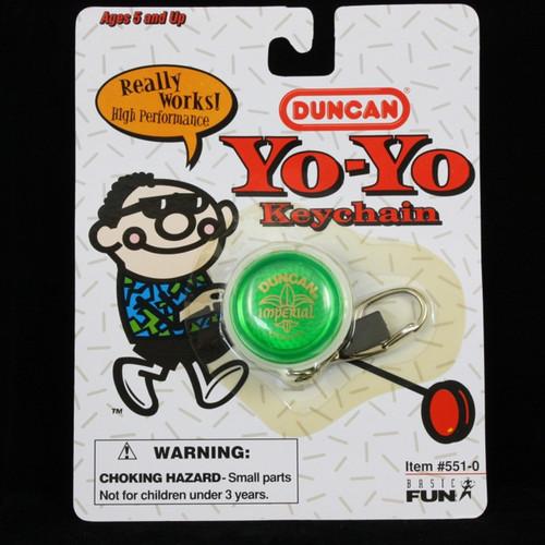 Duncan Imperial Yo-yo Keychain GREEN
