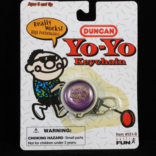 Duncan Imperial Yo-yo Keychain PURPLE
