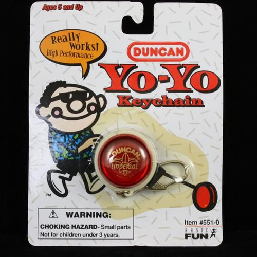 Duncan Imperial Yo-yo Keychain RED