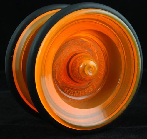 Henrys Lizard YoYo Ice Orange