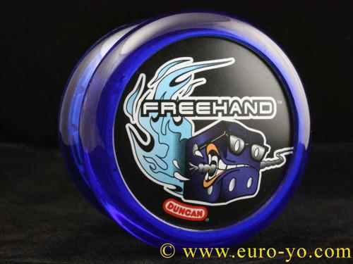 The Modfather Freehand 2 YoYo single recess blue