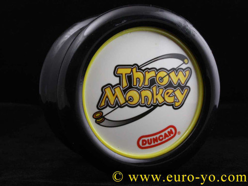 The Modfather Throw Monkey DOUBLE recess black/yellow
