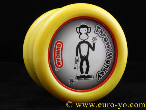 The Modfather Throw Monkey Single recess yellow/red