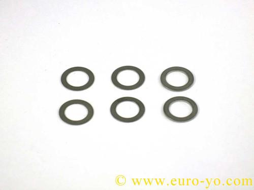 Euro-Yo Stainless Steel Yo-Yo Shim Set