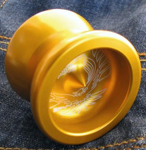 SPYY Skyy Chaser YoYo Gold colour small bearing