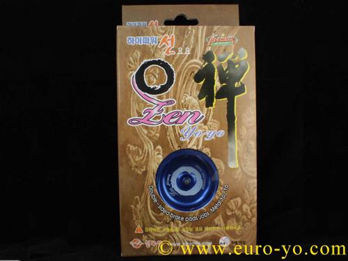 Shinwoo Zen aluminium Yoyo Blue/Blue