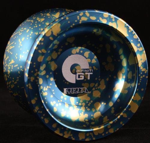 God-Tricks Advanced Unresponsive Eternal Yo-Yo Gold and Blue