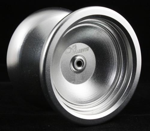 China-Yu Mammoth Metal Unresponsive Pro Trick Yo-Yo Silver
