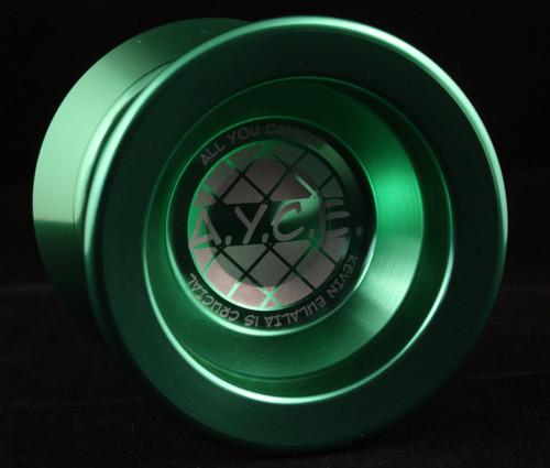 Born Crucial A.Y.C.E. Metal Unresponsive Yo-Yo Green