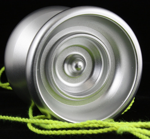 YoYofficer Brave Yo-Yo Silver