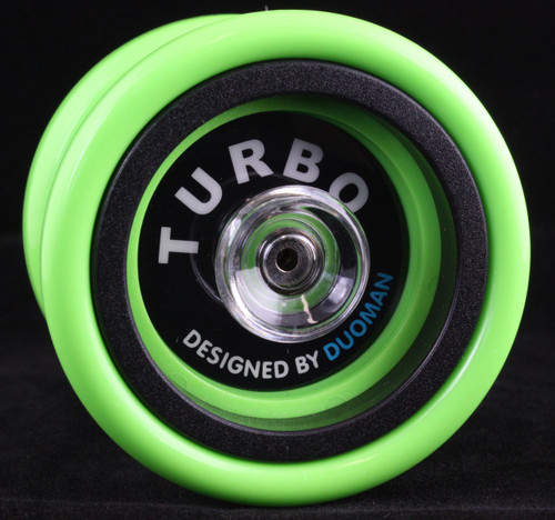 Duoman Turbo hubstacked plastic Yo-Yo - Green