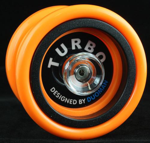 Duoman Turbo hubstacked plastic Yo-Yo - Orange