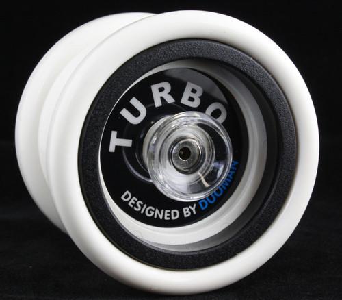 Duoman Turbo hubstacked unresponsive plastic Yo-Yo - white