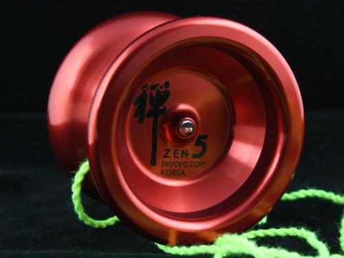 Shinwoo Zen 5 Yo-Yo Red